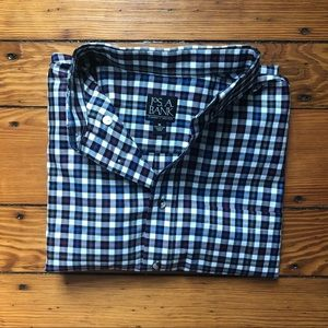 Travelers Collection Tailored Fit Button Down